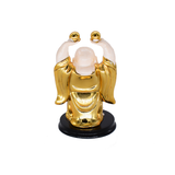 Feng Shui Chinese Happy Laughing Buddha Figurine Statue Gift Showpiece (11 CM) - Bagaholics Gift