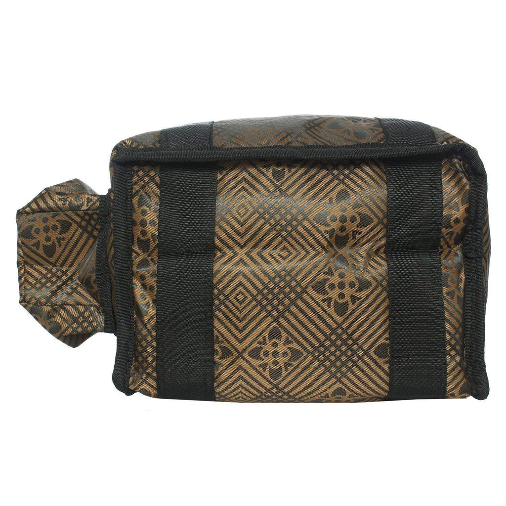 Lunch Box Cover/Lunch Bag/Tiffin Cover (Gold (small)) - Bagaholics Gift