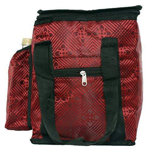 Lunch Box Cover/Lunch Bag/Tiffin Cover Red (Large)) - Bagaholics Gift