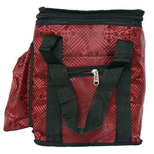 Lunch Box Cover/Lunch Bag/Tiffin Cover (Red (Medium)) - Bagaholics Gift