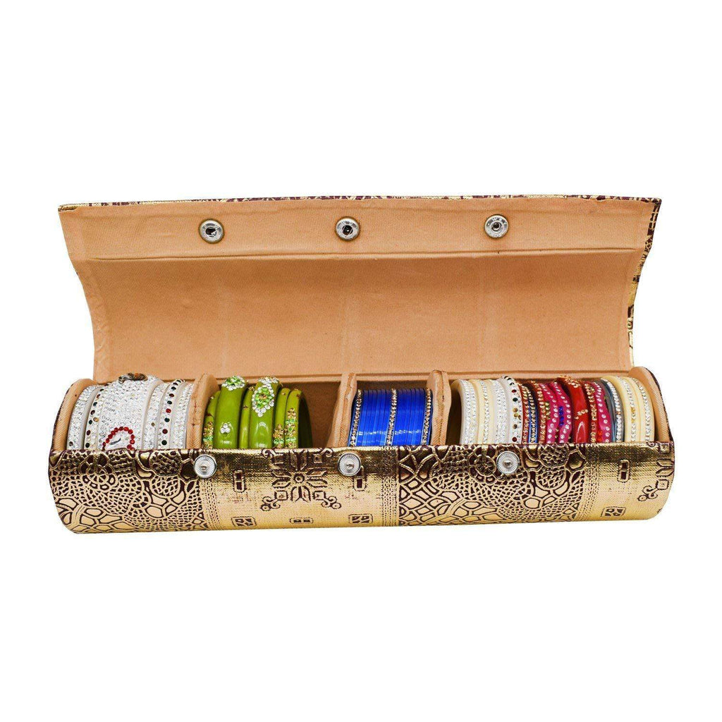 Hard Paper Board Round Shape Bangle Box (10 CM) - Bagaholics Gift