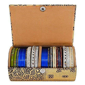 Hard Paper Board Round Shape Bangle Box (14 CM) - Bagaholics Gift