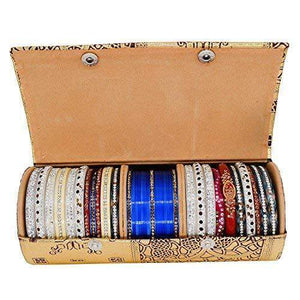 Hard Paper Board Round Shape Bangle Box (20 CM) - Bagaholics Gift