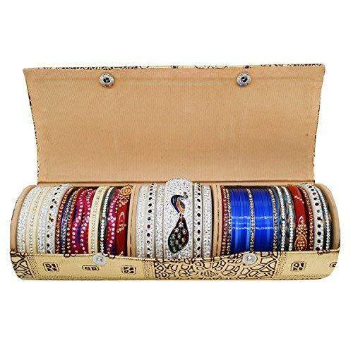 Hard Paper Board Round Shape Bangle Box (25 CM)