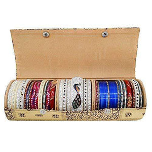 Hard Paper Board Round Shape Bangle Box (25 CM) - Bagaholics Gift