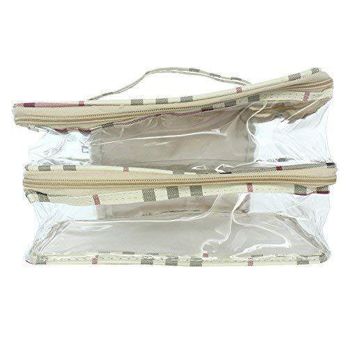 Transparent Multipurpose Cosmetic Bag (Large) - Bagaholics Gift