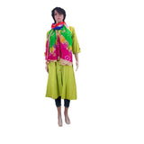 Banjara Bandhani Silk Dupatta for Women's (Multicolor) - Bagaholics Gift