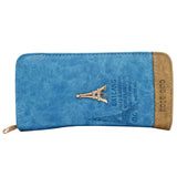 Double Decker Wallet (Blue) - Bagaholics Gift