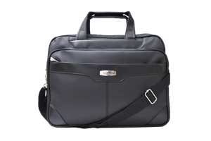 ELEGANCE Office Bag Nylon Laptop Bag (Black) - Bagaholics Gift