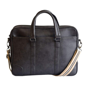 PU Office Bag Laptop Bag (Black)