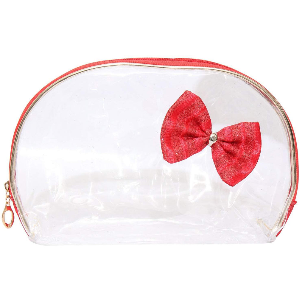 Multipurpose Red Makeup pouch (Set of 2)