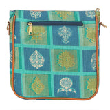 Sling Bag Adjustable Strap Shoulder Bag (Turquoise) - Bagaholics Gift