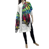 Cotton Printed Dupatta for Women's (Multicolor) - Bagaholics Gift