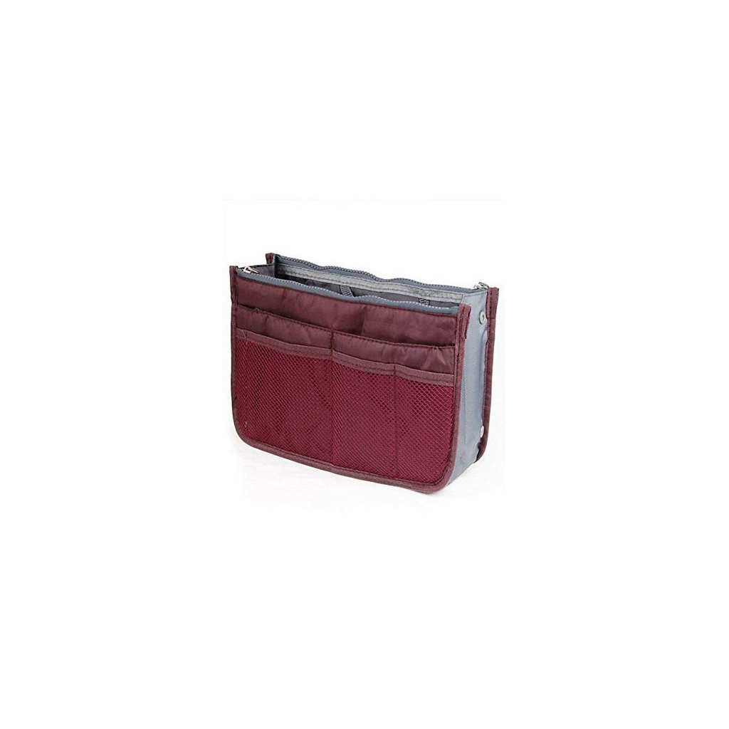 Multipurpose Travel Pouch (Maroon) - Bagaholics Gift