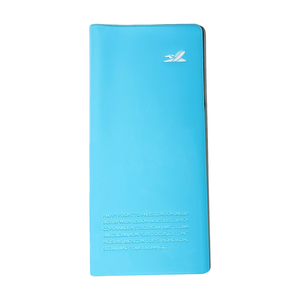 Stylish Blue PVC Passport Holder (Blue)