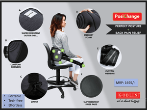 Back Pain Relief Cushion(Back Cushion) - Bagaholics Gift