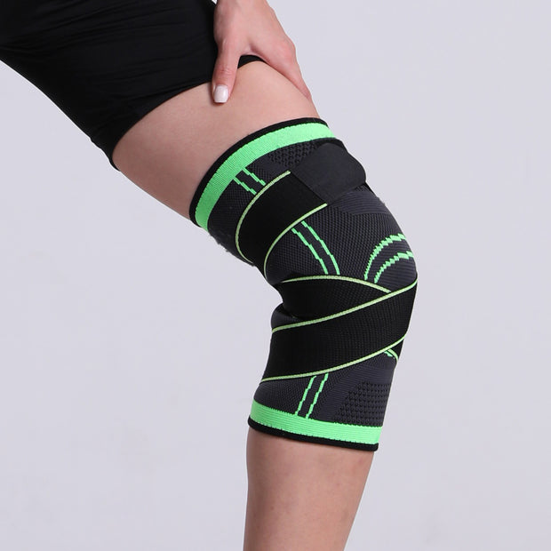 Pressurized Strap Compression Knee Support