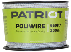 Polywire - 660' or 1320', white