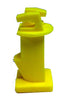 "Wood Post Slant Nail 2"" Insulator - black or yellow, 250 pack"