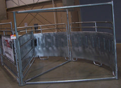 King Cattle Master Galvanized Sweep Tub - 20'