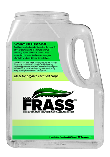 Cricket Frass - 100% Natural Cricket Frass Fertilizer - By Qubo Frass
