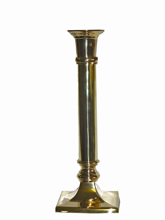 Polished Brass Candlestick