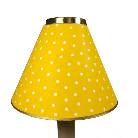 Yellow Mini Dot Design