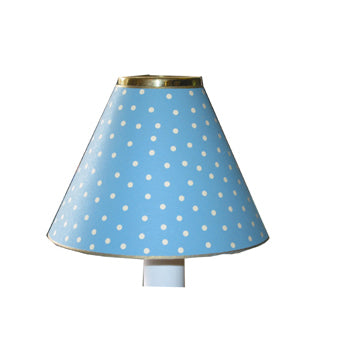 Light Blue Mini Dot Design