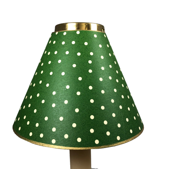 Dark Green Mini Dot Design