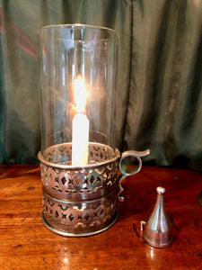Chamber Lamp In Silver