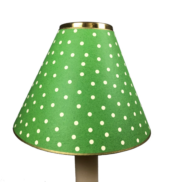 Bright Green Mini Dot Des