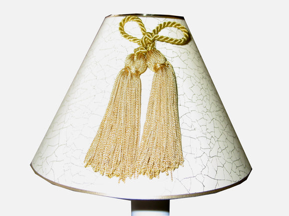 Gold Bow And Tassel