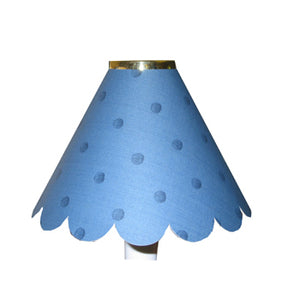 Large Scalloped Blue Spots