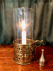 Chamber Lamp In Brass