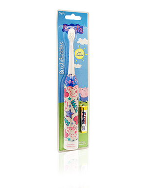 Brush Buddies Peppa Pig Sonic Powered Toothbrush