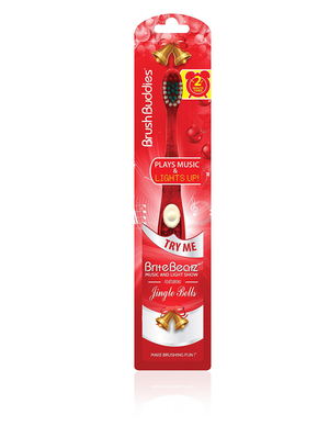 Brush Buddies Jingle Bells Brite Beatz Toothbrush