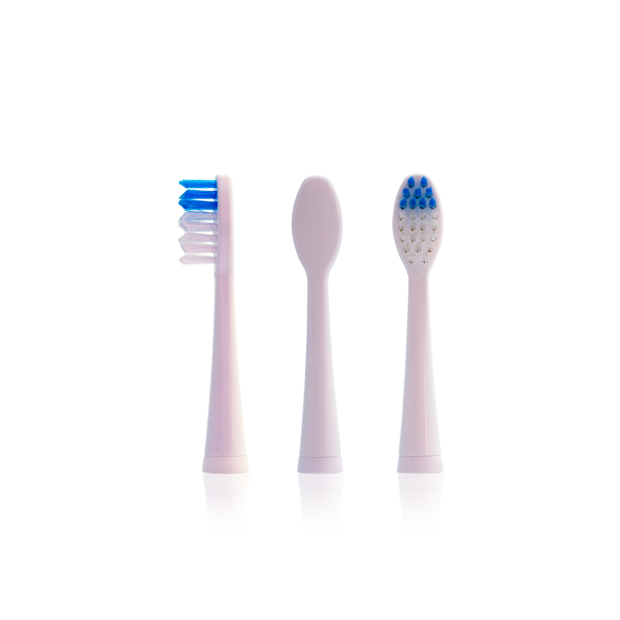 Soniclean Fashion Toothbrush Replacement Brush Heads (2 pack)