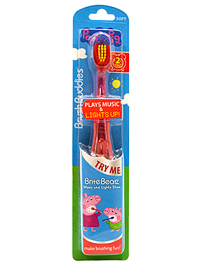 Brush Buddies Peppa Pig Brite Beatz Toothbrush