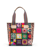 Allie Classic Tote in ConsuelaCloth™ by Consuela, front view