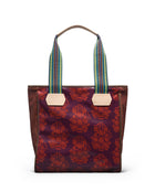 Vivi Classic Tote in  ConsuelaCloth™ by Consuela, back view