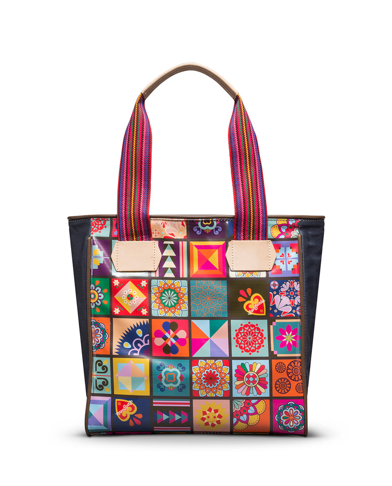 Zoey Classic Tote in ConsuelaCloth™ by Consuela, front view