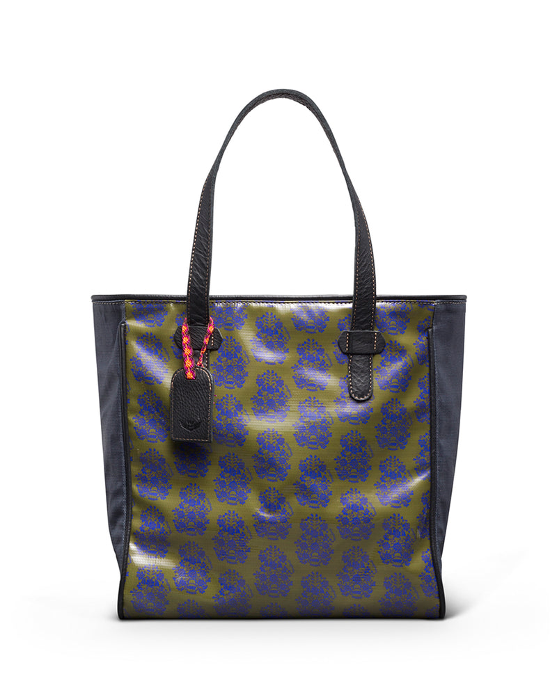 Audrey Classic Tote in ConsuelaCloth™ by Consuela, front view