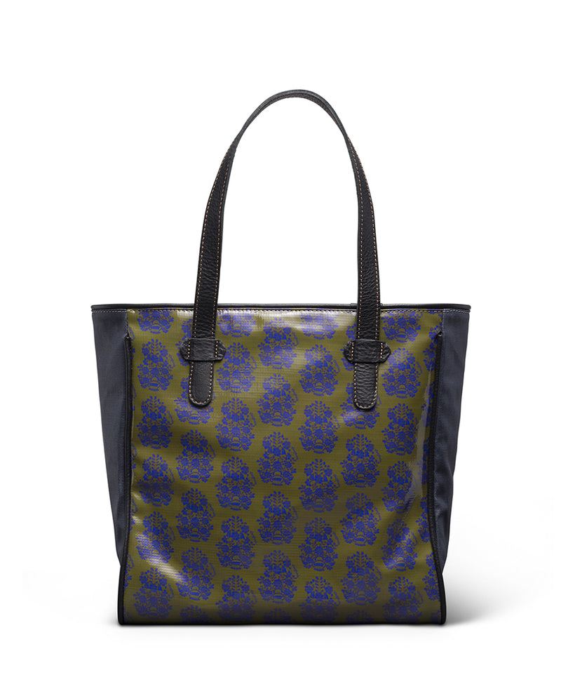 Audrey Classic Tote in ConsuelaCloth™ by Consuela, back view