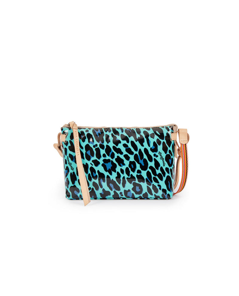 Gem Midtown Crossbody in Gem ConsuelaCloth by Consuela, front view