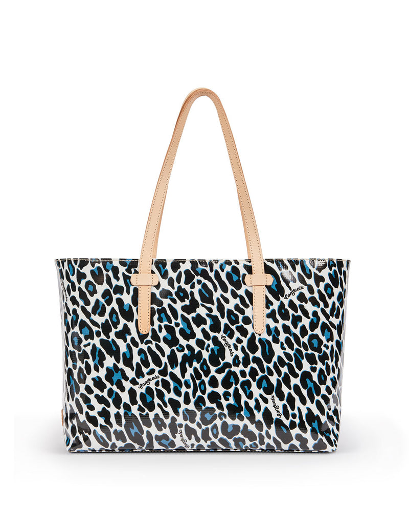 Lola East/West Tote in Lola ConsuelaCloth™  by Consuela, front