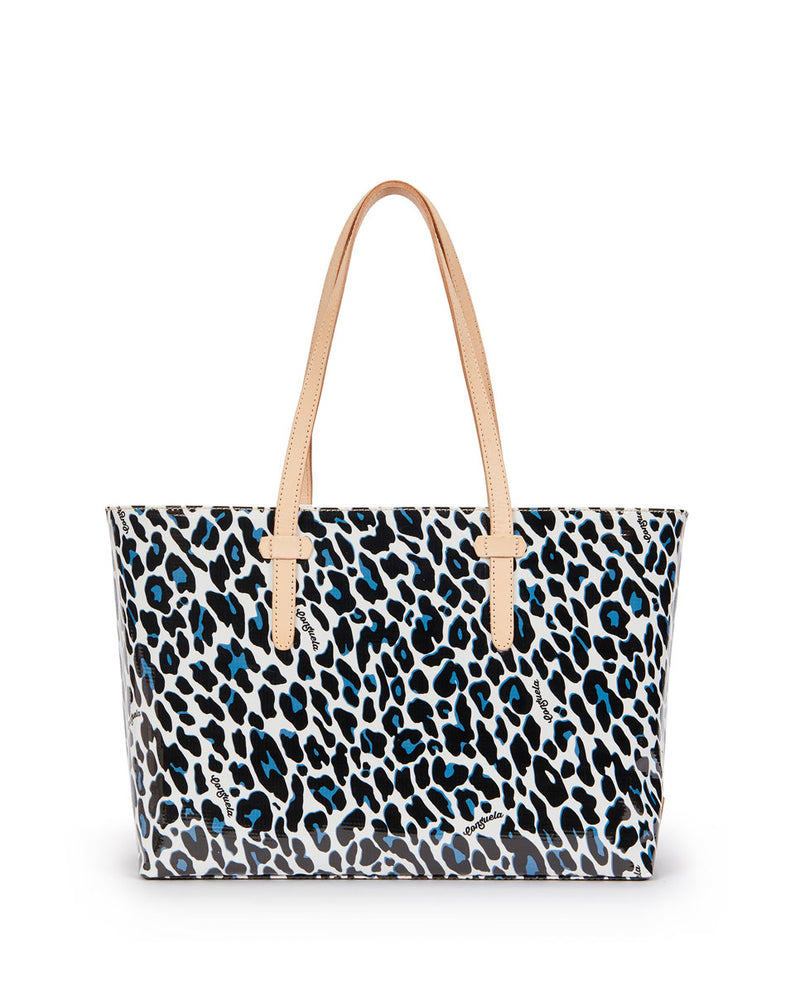 Lola East/West Tote in Lola ConsuelaCloth™  by Consuela, back view