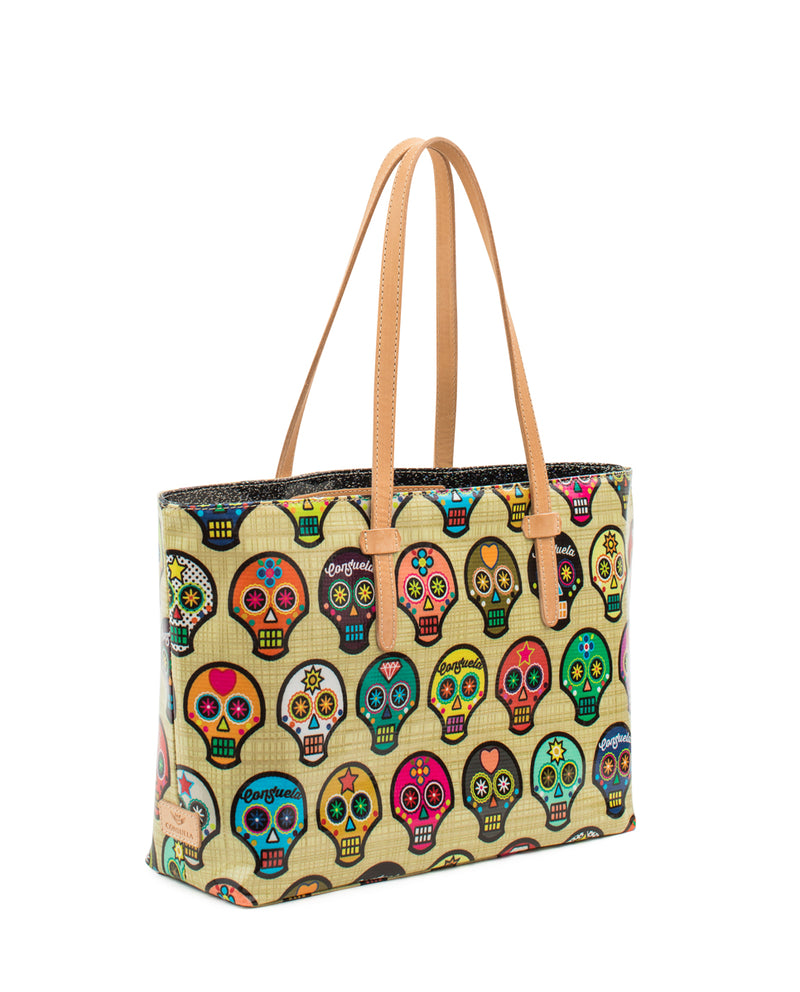 Sugar Skulls East/West Tote