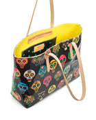 Lulu ConsuelaCloth East/West Tote by Consuela interior view