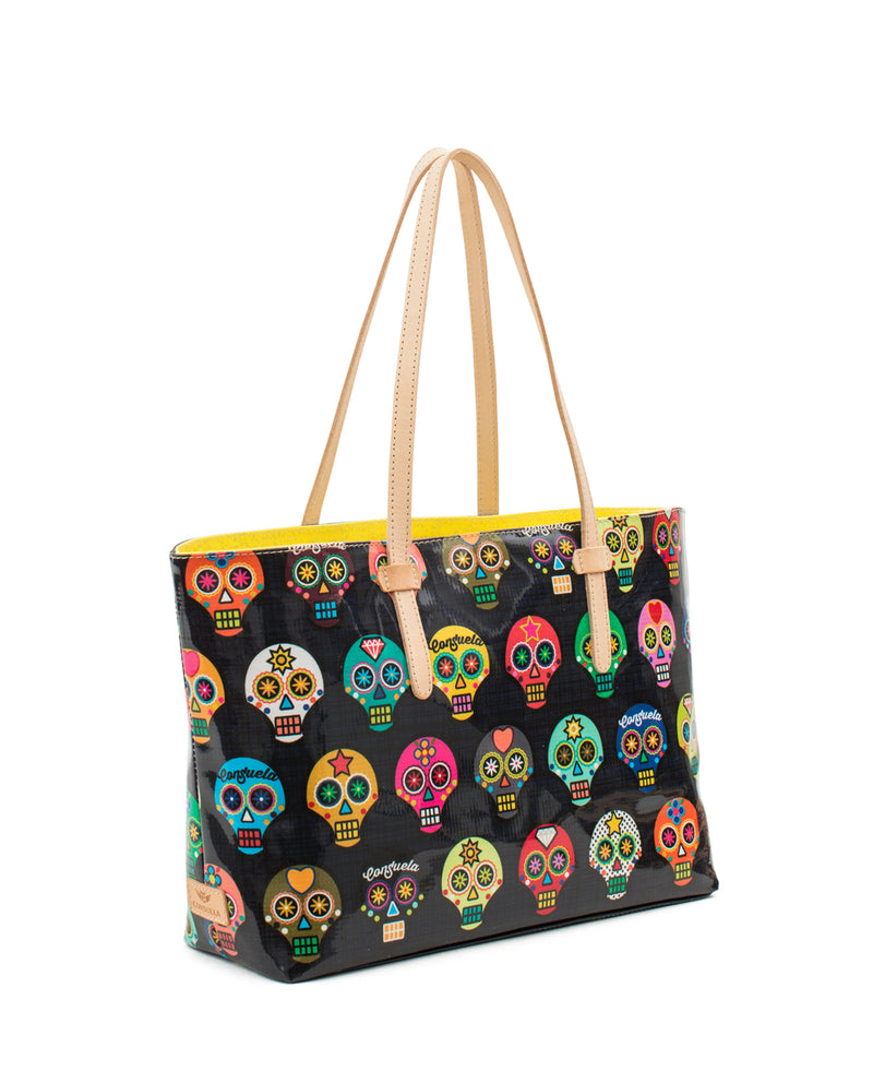 Lulu ConsuelaCloth East/West Tote by Consuela side view