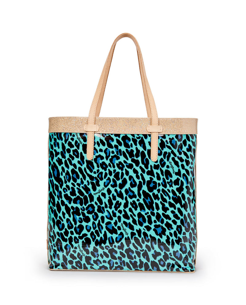 Gem Slim Tote in ConsuelaCloth by Consuela, front view
